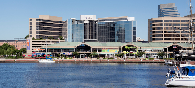 Hyatt Regency Baltimore Inner Harbor Exterior Harbor